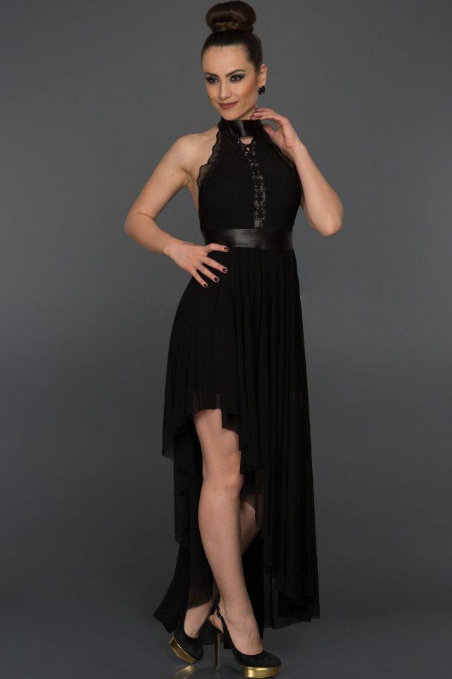 Boyundan Bağlamalı Elbise Modelleri