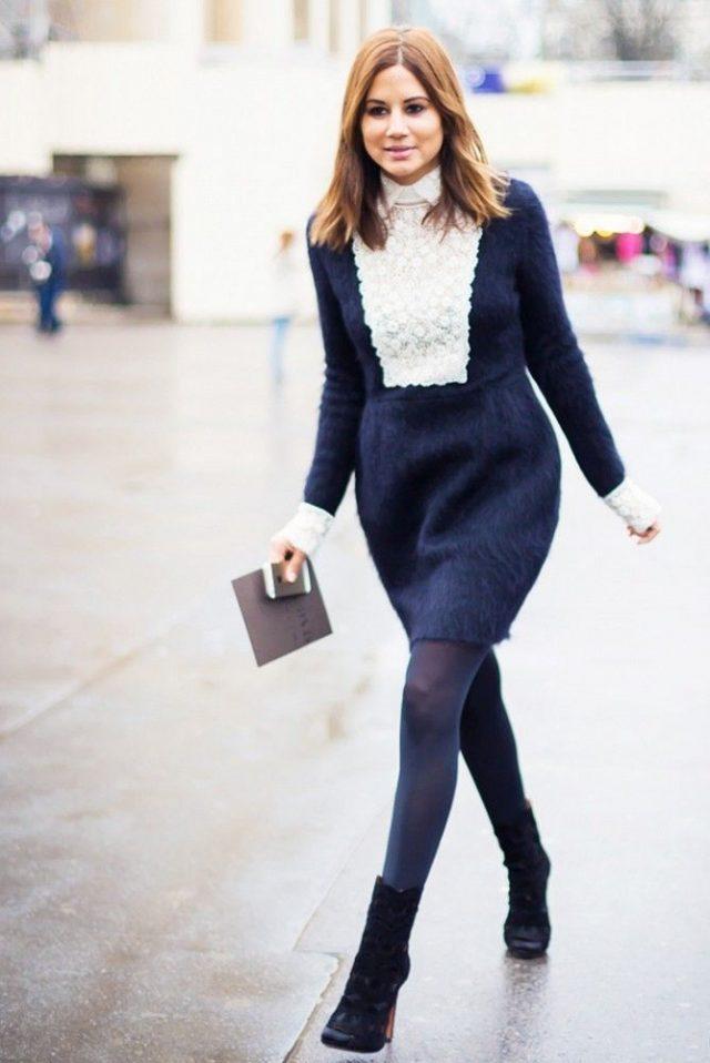 2015 Kışlık Elbise Modelleri